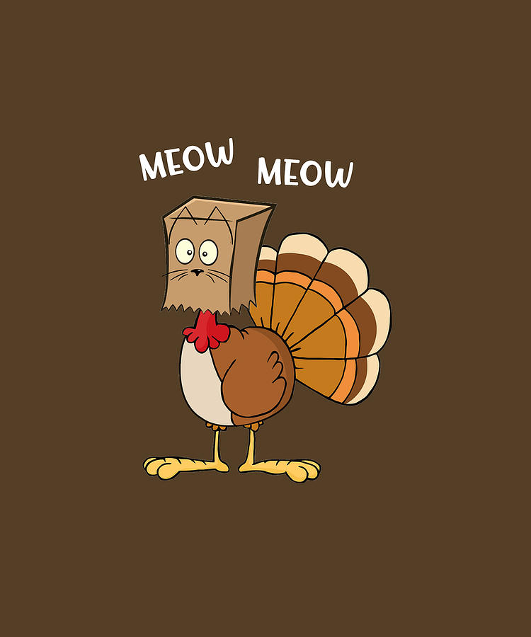 Thanksgiving Funny Pics : thanksgiving, funny, Turkey, Funny, Thanksgiving, T-shirt, Digital, Felix