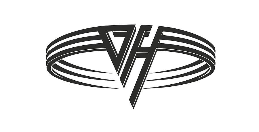 Van Halen Music Fair Warning Logo, Van Transparent