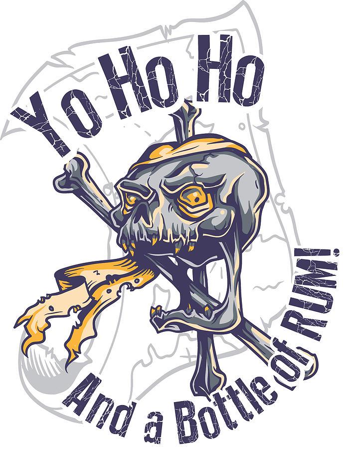 Yo Ho Ho And A Bottle Of Rum : bottle, Bottle, Digital, Jacob, Zelazny