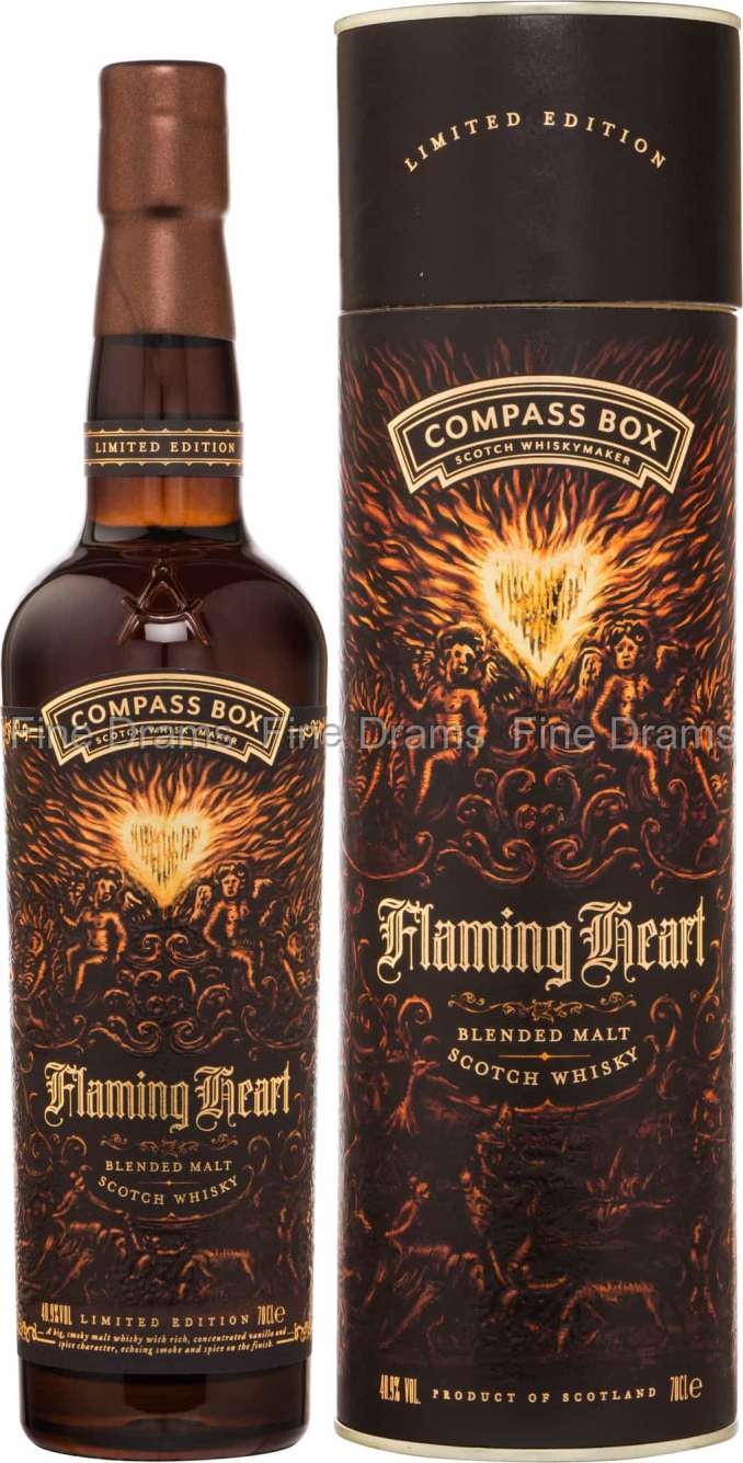 Compass Box Flaming Heart 2018 Whisky