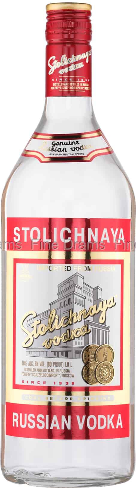 Stolichnaya Vodka (1 Liter)