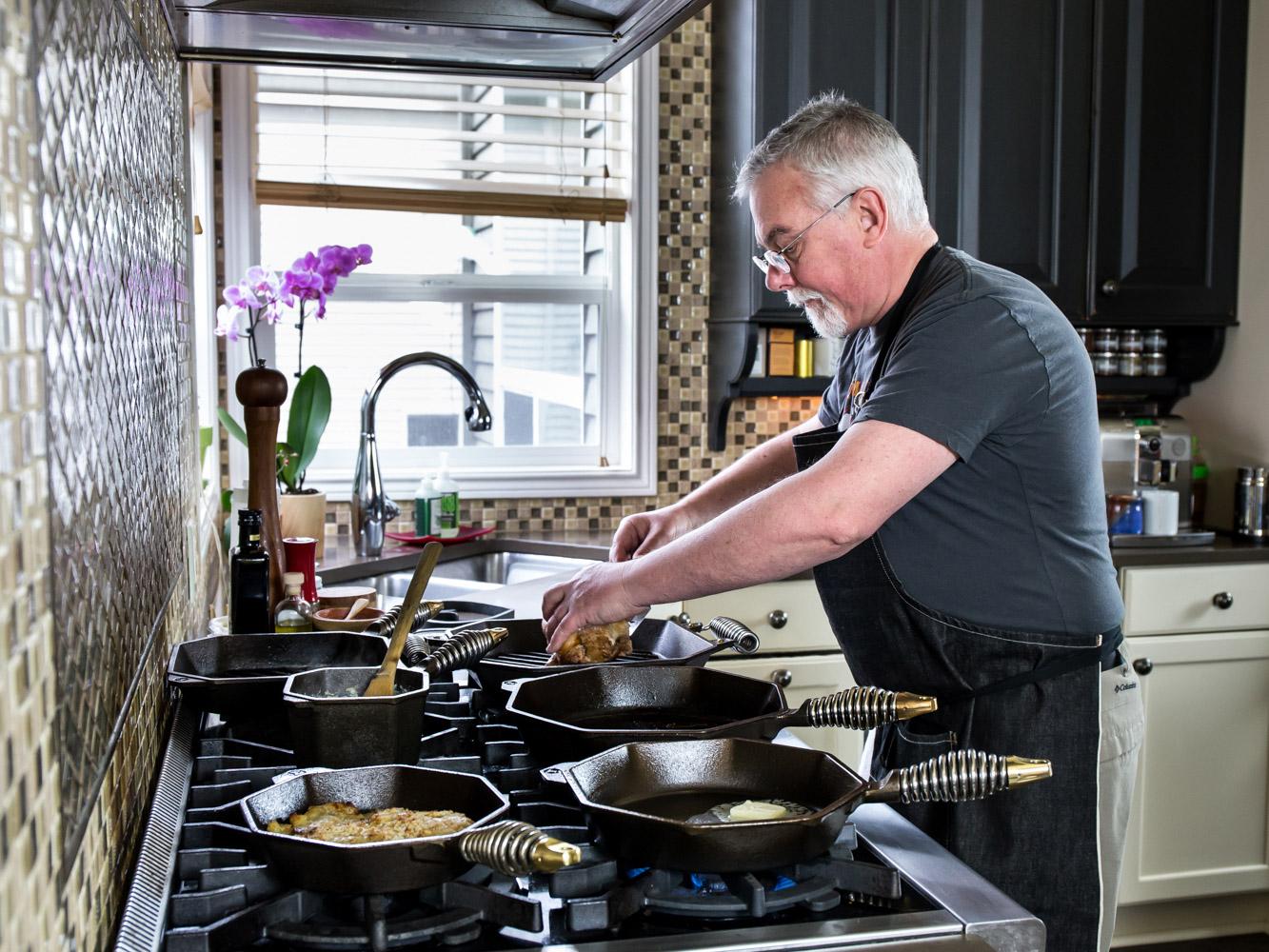 7 Piece Cast Iron Cookware Set FINEX Cast Iron Cookware Co