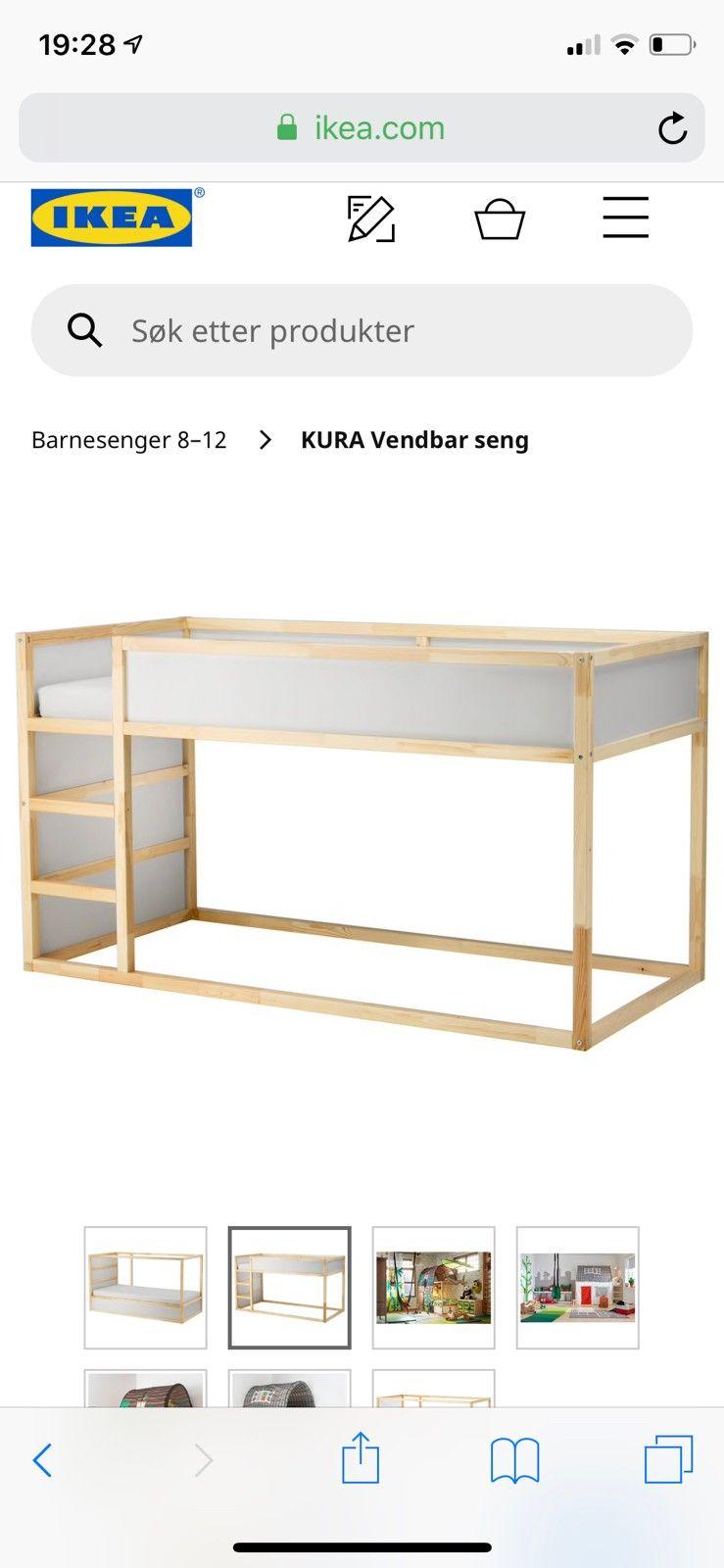 Verrassend Kura Sng. Simple Sng X Ikea Excellent Seng Ikea Perfect Lit Cm SS-78