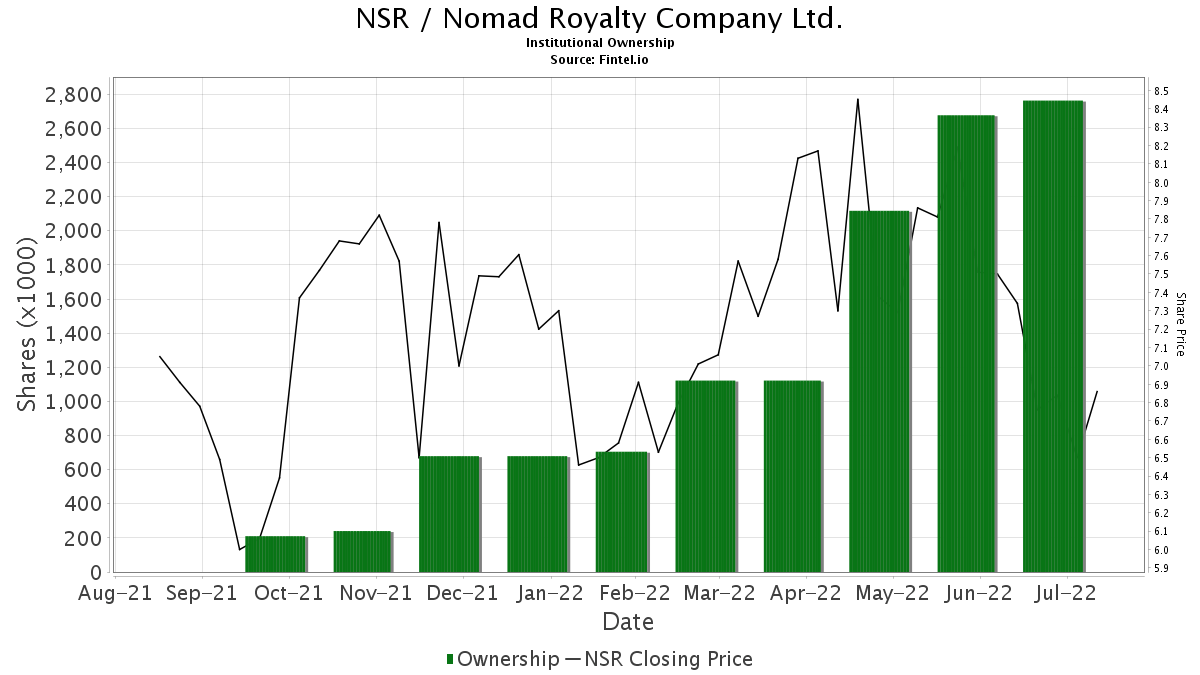 nsr institutional ownership neustar