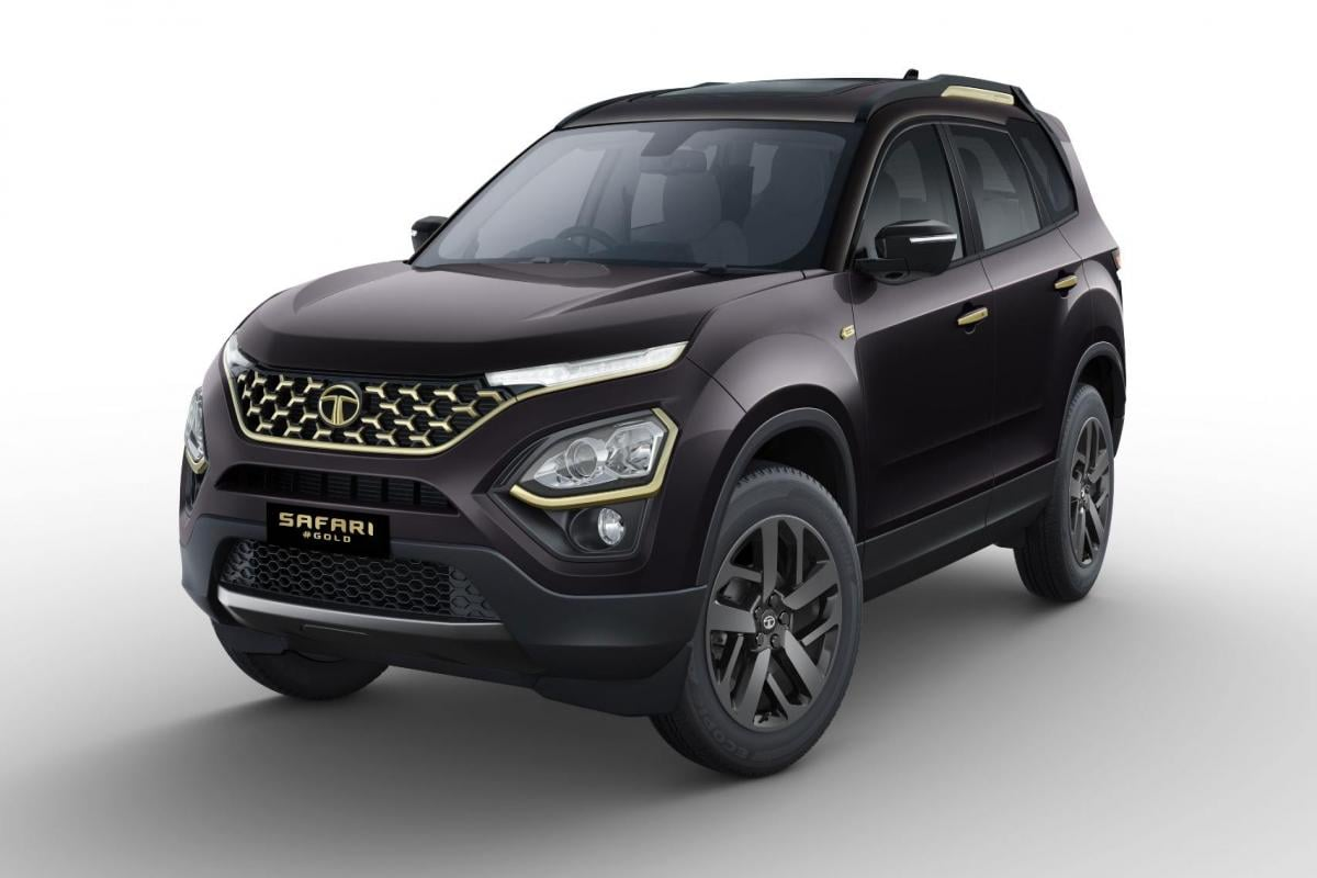 Bookings for the new model will commence … Tata Safari Gold Edition Launched To Mark Ipl 2021 Resumption Gets Ventilated Seats Wireless Carplay Technology News Firstpost