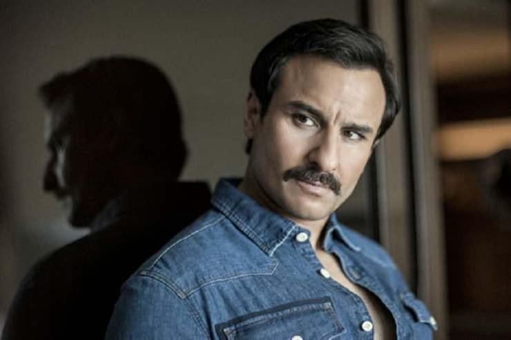 Saif Ali Khan by Toranj Kavyon for Exhibit magazine via Netflix.