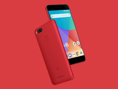 Mi A1 Special Edition Red.