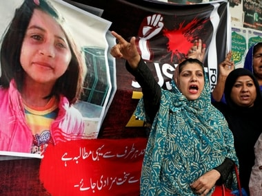 Protests gripped Pakistan following Zainab's murder in January. Reuters