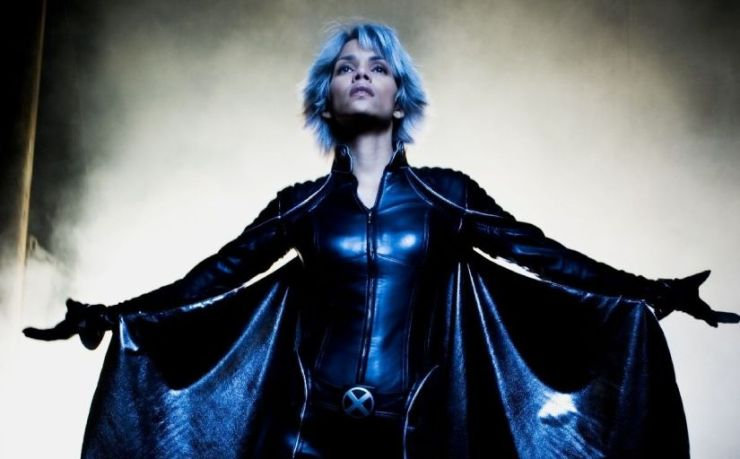 Halle Berry as Storm in the X-Men franchise