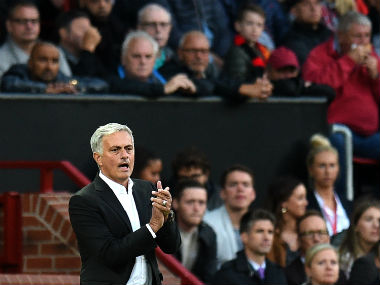 Manchester United boss Jose Mourinho has climbed a mountain in his third season in the club. AFP