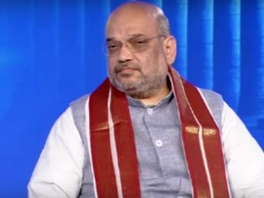 Amit Shah, national president, BJP. Pic courtesy: News18