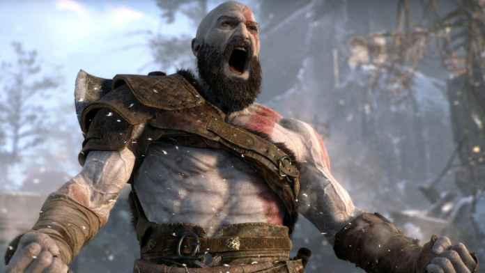 Kratos in God of War (2018).