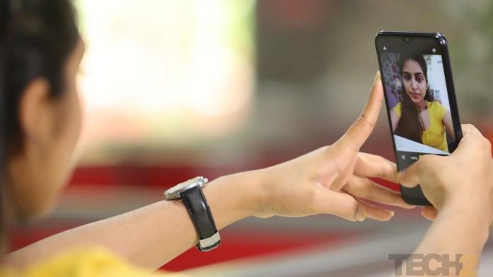 Realme C2 has a 5 MP selfie sensor. Image: tech2/Nandini Yadav