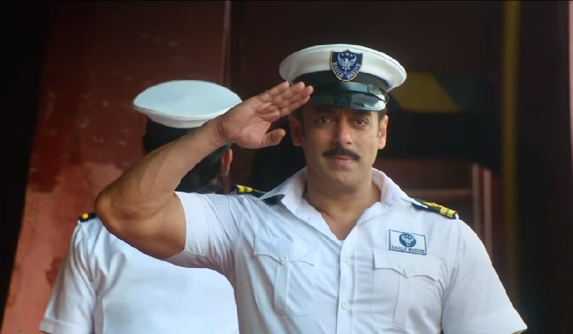 Salman Khan in a still from Bharat. YouTube
