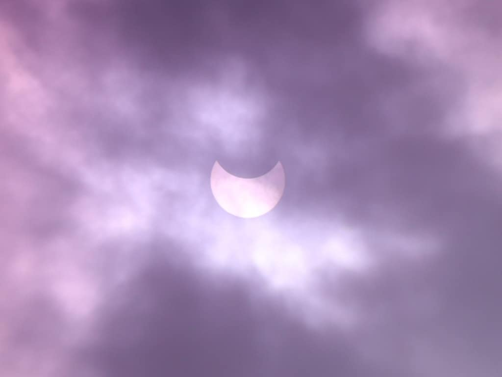 Rare Annular Solar Eclipse Captured In Stunning Images By