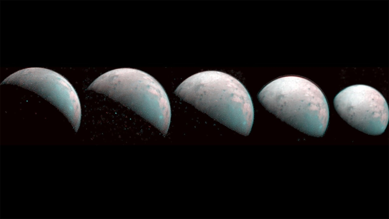 NASA Juno captures first images of the north pole of Ganymede — Jupiter's moon- Technology News, Firstpost