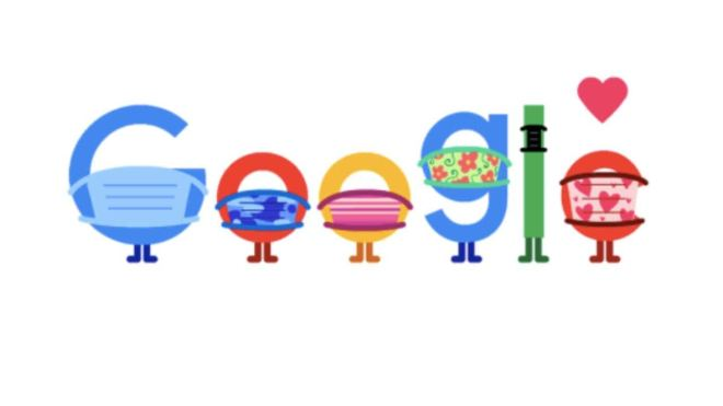 Google Doodle demonstrates COVID-19 prevention methods like using masks, keeping distance- Technology News, Firstpost