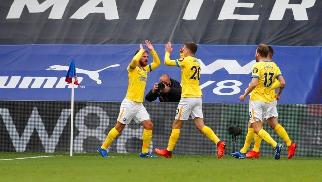 Premier League: Brighton hold Palace thanks to late equaliser; Fulham draw against Sheffield United