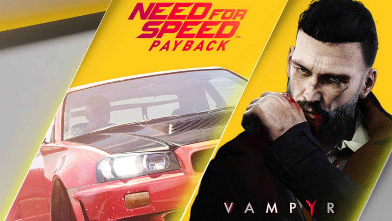 PlayStation Plus announces Need for Speed: Payback, Vampyr as free  games for October