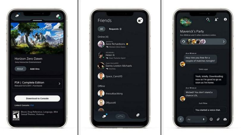 Sony's PlayStation app gets new features including voice chat, integrated messaging and more- Technology News, Gadgetclock