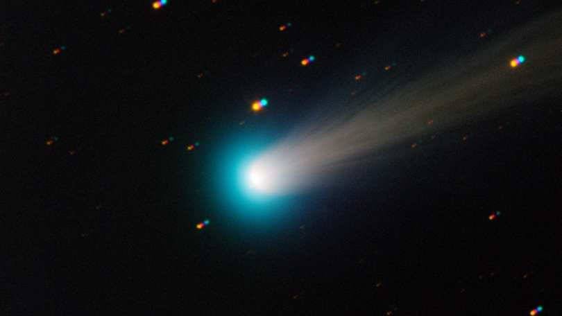 NASAs time-lapse of the Comet ISON shows it journeying towards the Sun, before it broke apart in 2013