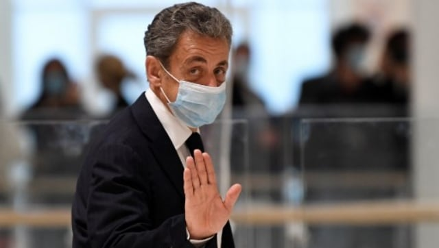 Paris court convicts former French president Nicolas Sarkozy on charges of corruption, influence peddling