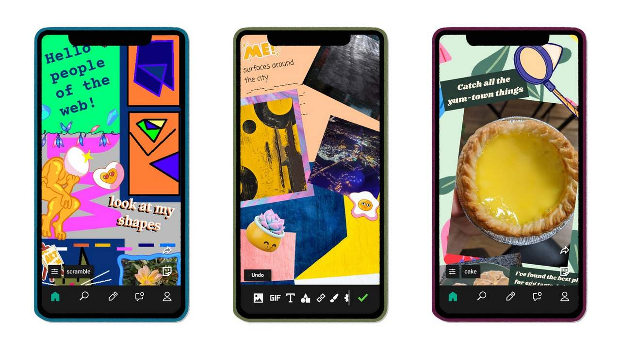 Facebook launches an experimental collage making app called E.gg that lets users design their own webpages- Technology News, Gadgetclock