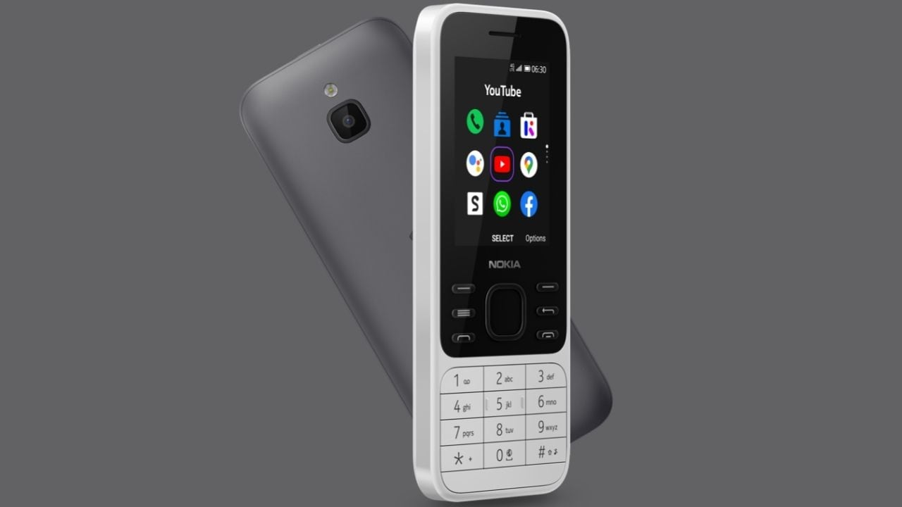 Nokia 6300 4G, 8000 4G feature phones with WhatsApp, Google Assistant launched- Technology News, Gadgetclock