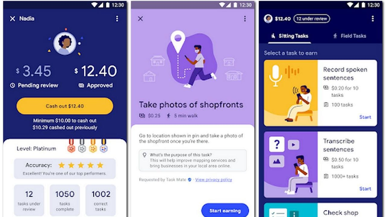 Google is now testing Task Mate app in India that will allow users to earn money by finishing simple tasks- Technology News, Gadgetclock
