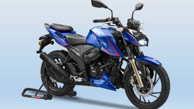 New TVS Apache RTR 200 4V with new riding modes launched in India at Rs 1.31 lakh