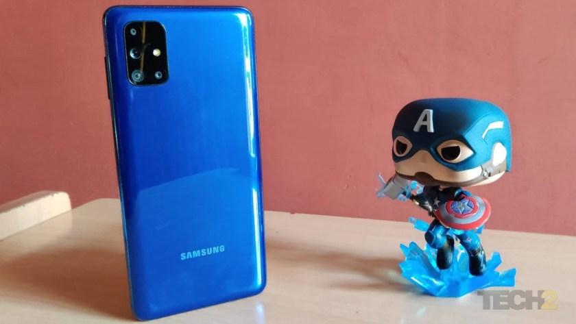 Samsung Galaxy M51. Image: Tech2/Priya Singh