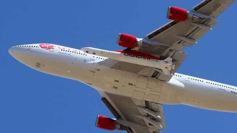 Virgin Orbit rocket launched from 747 wing deploys nine CubeSats in successful second attempt
