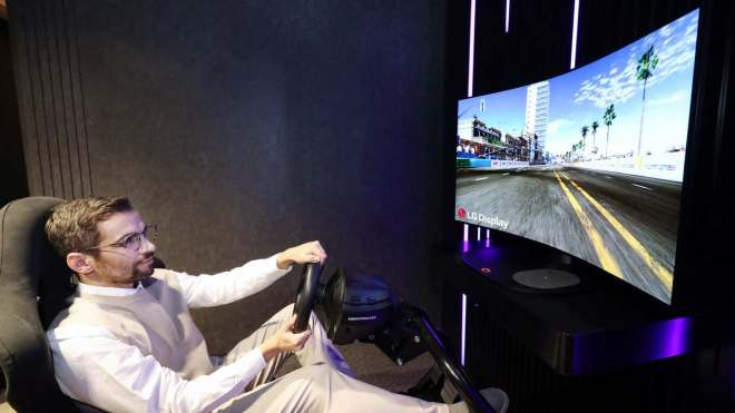LG unveils 48-inch bendable CSO display for gaming, to be showcased at the event- Technology News, Gadgetclock