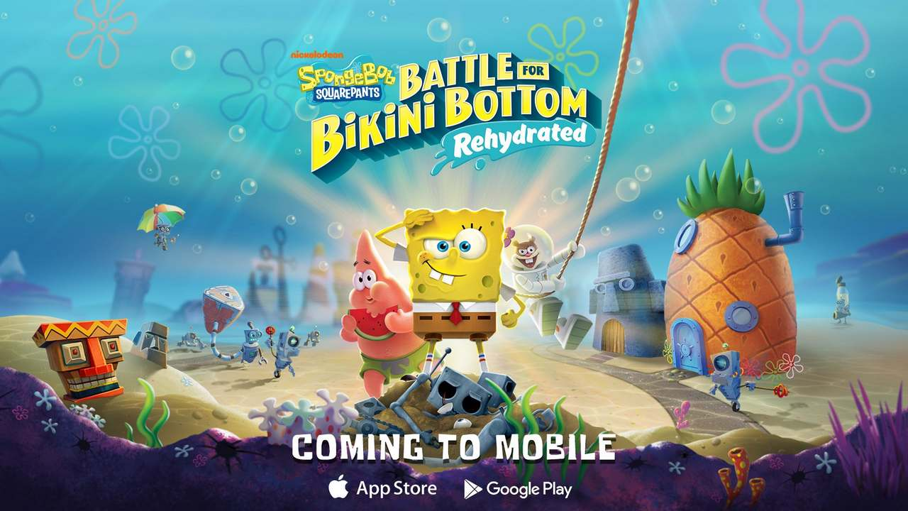 Battle for Bikini Bottom – Rehydrated will soon be playable on both Android and iOS mobile- Technology News, Gadgetclock