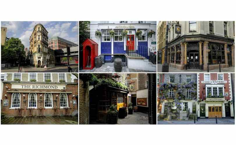 A montage of clubs closed due to the pandemic. Photo from AP/Matt Dunham