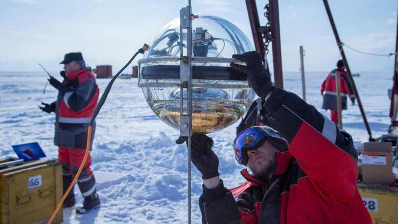 Under the worlds deepest lake, Baikal telescope being assembled to hunt ghost particles