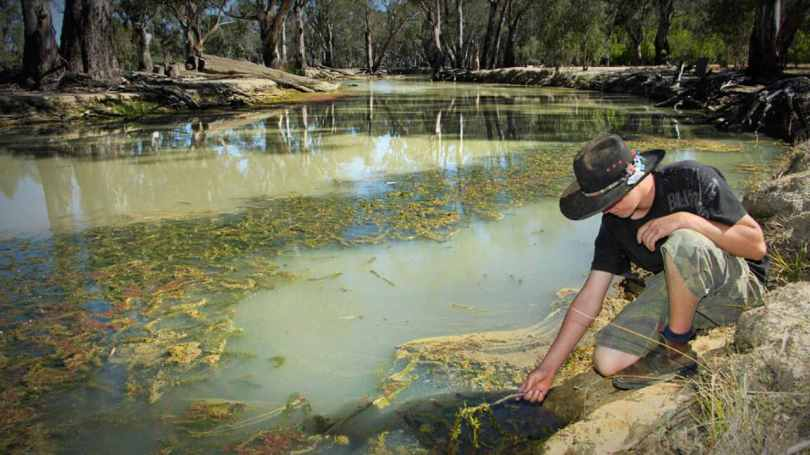 Murray–Darling Basin in Australia provides Adelaide with 50 percent of its drinking water along with other cities. Most of its pollution problem include septic leakage from houses, contaminated stormwater runoff and sand dumping. Image credit: Murray–Darling Basin Authority