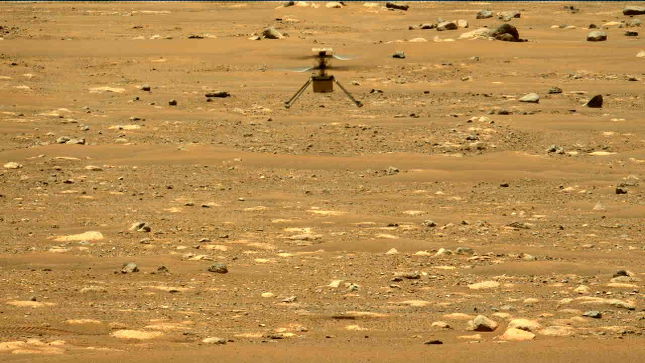 NASA's Ingenuity helicopter successfully completes second flight on Mars- Technology News, Gadgetclock
