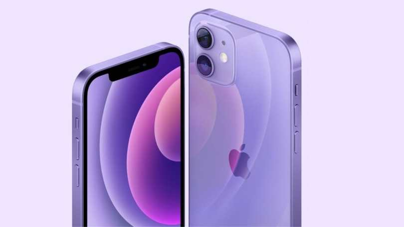 The new purple colour variant for the iPhone 12 and iPhone 12 Mini will be available for purchase starting 30 April.