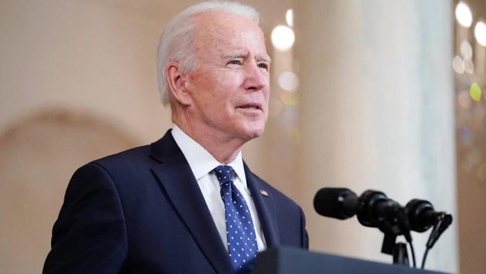 President Joe Biden at the White House in Washington. Image credit: AP Photo/Evan Vucci