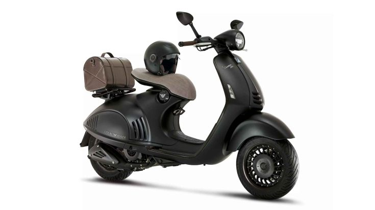Even at its astonishing price of Rs 12 lakh, the Vespa 946 Emporio Armani found some buyers in India. Image: Piaggio