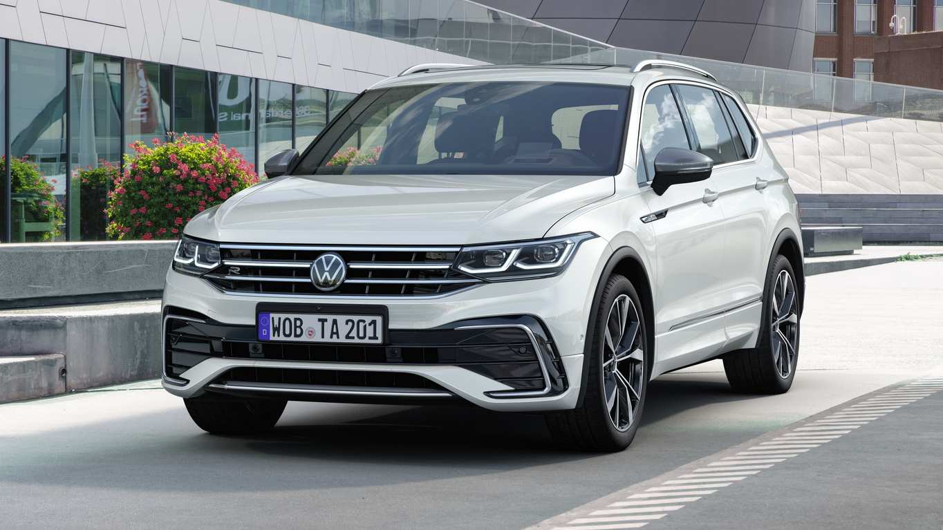 Volkswagen Tiguan Allspace facelift debuts with styling tweaks, MIB3 infotainment- Technology News, Gadgetclock
