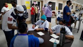 India reports 1.96 lakh new COVID-19 cases, lowest single-day tally since 14 April-India News , GadgetClock