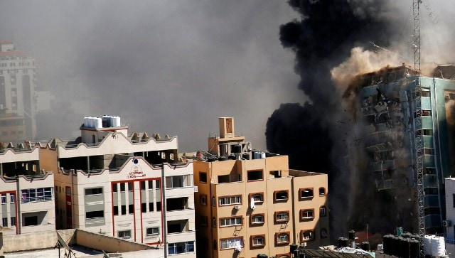 Will not be silenced, says Al-Jazeera after Israeli airstrike in Gaza destroys building with media outlets-World News , Firstpost