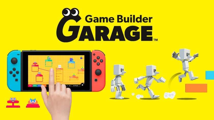 Game Builder Garage. Image: Nintendo