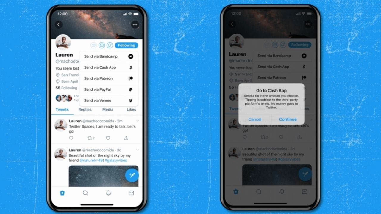 Twitter now allows users to add virtual tip jars to their accounts so others can support their tweets- Technology News, Gadgetclock