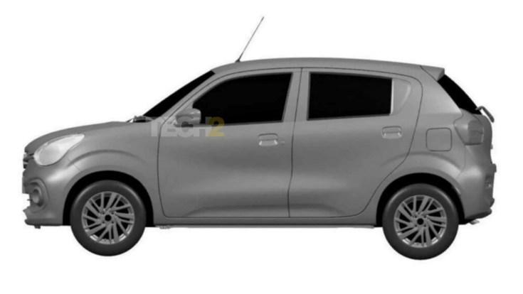 Along the sides, the 2021 Maruti Suzuki Celerio lacks any sort of design flourish.