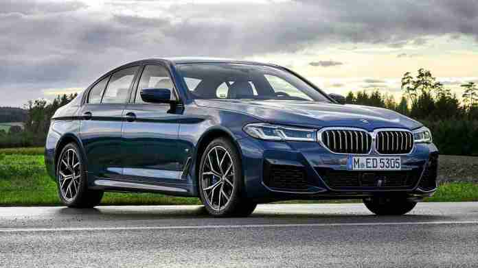 The 2021 BMW 5 Series will be available in three versions. Image: BMW