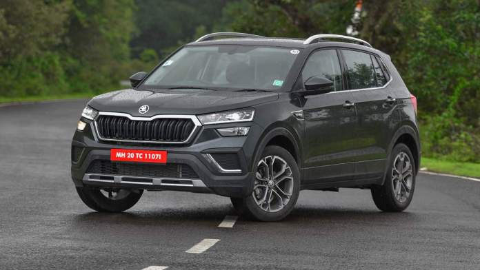 The Skoda Kushaq looks smart, but is clearly smaller than some of its rivals. Image: Overdrive/Anis Shaikh