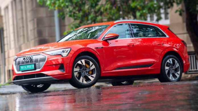Audi e-tron owners will be able to use charging facilities at Audi's dealerships for free for the remainder of 2021. Image: Audi India